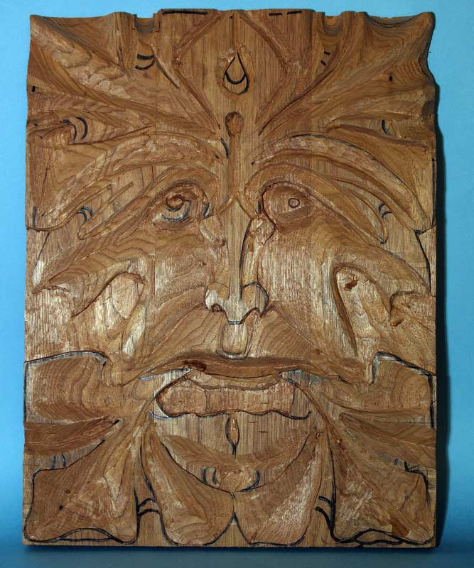 Wood carvings by rich patterson